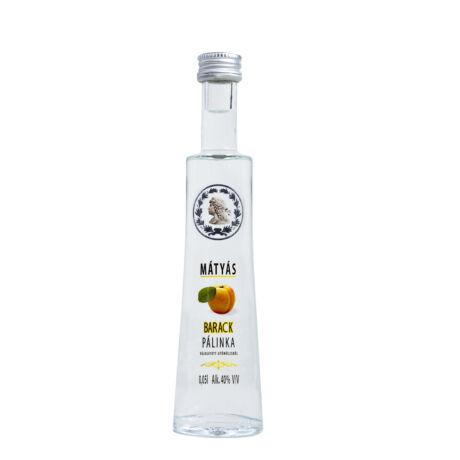 Mátyás Barack Pálinka 40% 0,05 liter