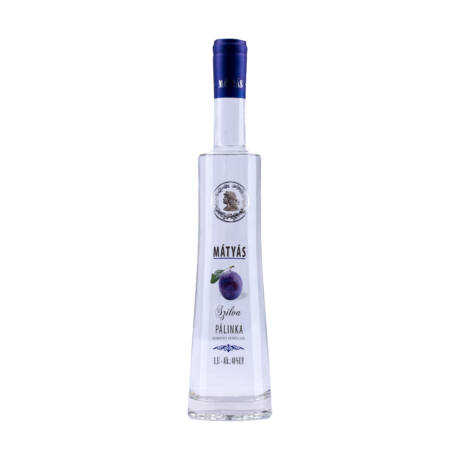 Mátyás Szilva Pálinka 40% 0,5 liter