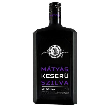 Mátyás Keserű Szilva Likőr - 1l - 33%
