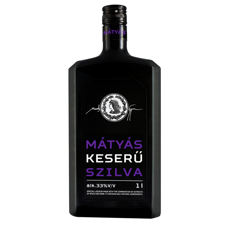 Mátyás Keserű Szilva 33% 1liter